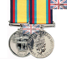 Official Gulf Medal (1990-91) FULL SIZE  Medal + Ribbon ( Iraq Gulf war 1