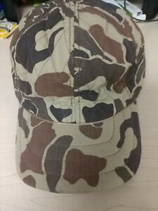 "Hunting Hat Camo Cabela's Thinsulate 3M size M Brown Woodland  ""good condition"""