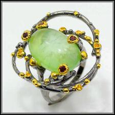 Handmade Natural Rhodolite Garnet Fine Rings