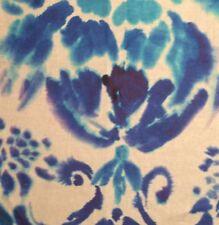 DESIGNERS GUILD Cellini Majolica Printed  Linen Remnant New