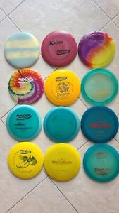 Pre-owned disc golf set (12 discs)