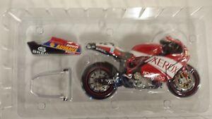 Regis Laconi. Ducati 999 F05. WSB 2005.  Minichamps 1/12