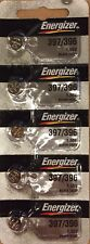5 PACK Energizer 397/396 (SR726SW) Silver Oxide Watch Batteries- USA SELLER
