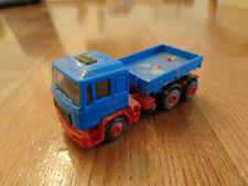 Kibri Schwerlastzugmaschine MAN blau 1/87 H0 gebaut