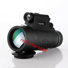 40x60 HD Monocular Telescope Waterproof Portable Hunting Hiking Waterproof