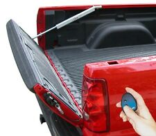 Power pickup truck tailgate lift assist & lock