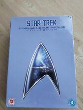 Star Trek The Original Motion Picture Collection (DVD, 2009, 7-Disc Set, bnib