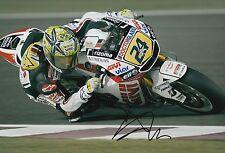 Toni Elias mano firmado LCR Honda 12x8 Foto MotoGP 3.