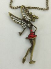 Handmade Rhinestone Charm Costume Necklaces & Pendants