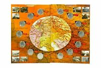 ✔ Album + Coins Russia  5 rubles 2016 Capital city of the liberated States UNC