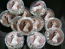 12-Wedding Party Favors Rosaries Cross, Scented,Recuerdo,Matrimonio,Boda, Fiesta
