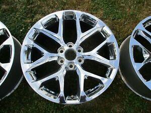 22'' Sierra Silverado Escalade Tahoe Yukon 1500 Chrome Wheel Rim OEM 5668 #7