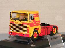 1 43 Ixo Scania LBT 141 1976 yellow/red
