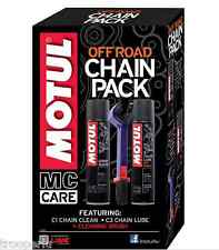 MOTUL CHAIN LUBRICANT AND CLEANING PACK - OFF ROAD MOTORCYCLE