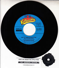 """ANDREWS SISTERS Don't Sit Under The Apple Tree & I Can Dream, Can't I? 7"""" 45 NEW"""