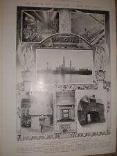 Printed photos Carron ironworks Falkirk Scotland 1905 Ref L