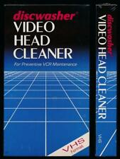 Discwasher Video Head Cleaner VHS VCR Maintenance NIB NOS Out of Production Rare