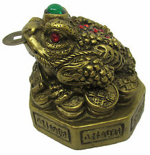 Feng Shui Three Legged Frog (Toad) / Money Frog - Feng Shui Product