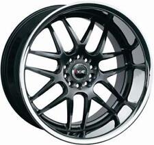 18X9 XXR 526 5X114.3/120mm WHEELS +25 CHROMIUM BLACK Fits 350z G35 240sx Rx8 Rx7