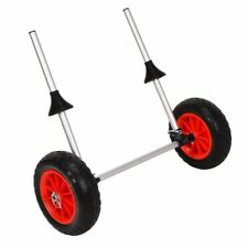 Kayak Trolley Accessories Wheels Cart Carrier Collapsible Aluminium Canoe 100KG