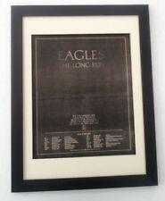 More details for eagles*long run*us tour*1979*original*poster*ad*framed*fast world ship
