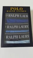 Polo Ralph Lauren Classic  Cotton Stretch Triple Pack Boxer Trunks Size- Small