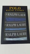Polo Ralph Lauren Classic Cotton Stretch Triple Pack Boxer Trunks Gr-L