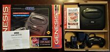 Sega Genesis Console Complete with Box NFL 95 Sealed