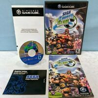 Sega Soccer Slam (Nintendo GameCube, 2002) Complete with Manual - Tested