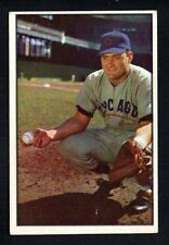 HARRY CHITI CUBS  ROOKIE 1953 BOWMAN COLOR #7 VG-EXCELLENT+    NO CREASES
