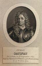 Nicolas Catinat de La Fauconnerie Maréchal de France (1637-1712)