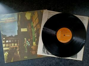 "DAVID BOWIE "" ZIGGY STARDUST "" LP (1972) RCA SF8287 FIRST PRESS EX VINYL 1E/E"