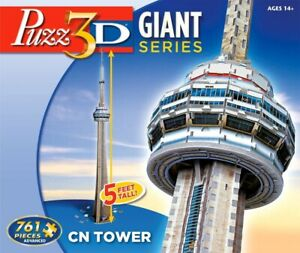 CN Tower 3D Puzzle Puzz3D Used Near new Condition