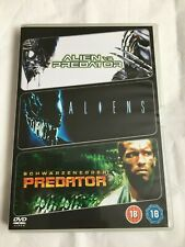 Alien / Predator Boxset  (3 film collection) - Used Film DVD  (Free Shipping)