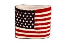 Schweißband Fahne Flagge USA 7x8cm Armband für Sport