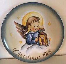 Schmid - Collector Series Plates - Christmas Heavenly Light 1985