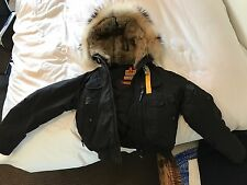 NEW Black Parajumpers Gobi Women's XL  (Mint Condition)