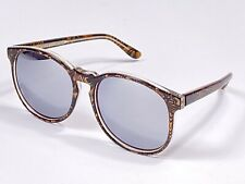 """New Vintage Michele Lamy """" Diffuse """" Psychedelic Oversized Mirror Sunglasses"""
