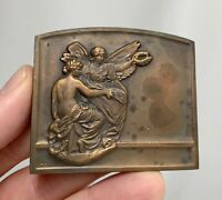 1930 Michel Bronze Plaque Medal  - 81341