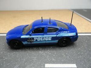 MATCHBOX POLICE SLICK TOP DODGE CHARGER BLUE CUSTOM UNIT