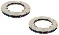DBA Rear 5000 Series Slotted Brake Rotor Ring (Pair) For Nissan 09+ GT-R