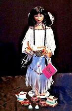 Vintage Paradise Galleries Native American Doll AA18-1283