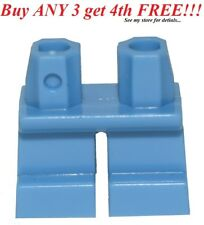 ☀️NEW Lego Legs Pants MINIFIGURE MINIFIG BOY GIRL Medium BLUE SHORT  Boy girl