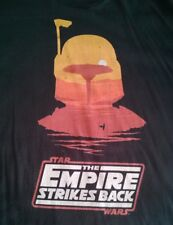 Star Wars Boba Fett The Empire Strikes Back Mondo t shirt black size 2XL