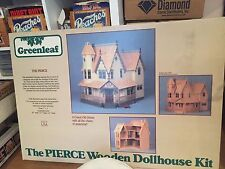 NEW!! Greenleaf The Pierce Wooden Dollhouse Kit- Victorian Easter - In Box Cheep