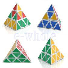 Dreieck Pyramide Magic Geschwindigkeit Cube Pyraminx Twist Puzzle Spielzeug GE