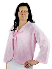 Bed Jacket with Tie, Classic Thermal  British Made by Lux Lux, 3333
