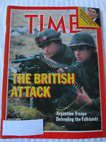 TIME MAGAZINE MAY 1982 THE BRITISH ATTACK DEFENDING THE FALKLANDS