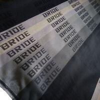 Gradation Bride Car Seat Fabric Cloth Racing Seat Cover Interior Material 1mx1.6