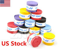 10 Pcs Anti-Slip Sweat Band Tennis Badminton Racket Racquet Band Grip Tape US